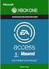 EA ACCESS 1 MAAND